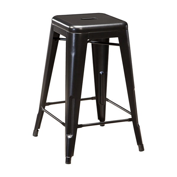 Signature Design by Ashley® Pinnadel Set of 4 Counter Height Bar Stools