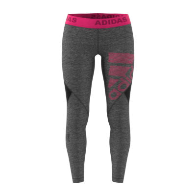 adidas Adidas Alphaskin Logo Long Tight Knit Leggings
