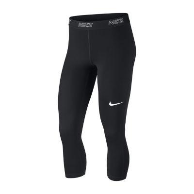 Nike Swoosh Workout Capris