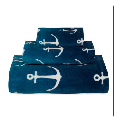 Destinations Ombre Anchor Bath Towel Collection