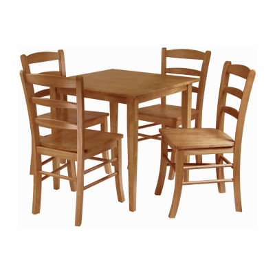 Winsome Groveland 5-pc Dining Table with 4 Chairs