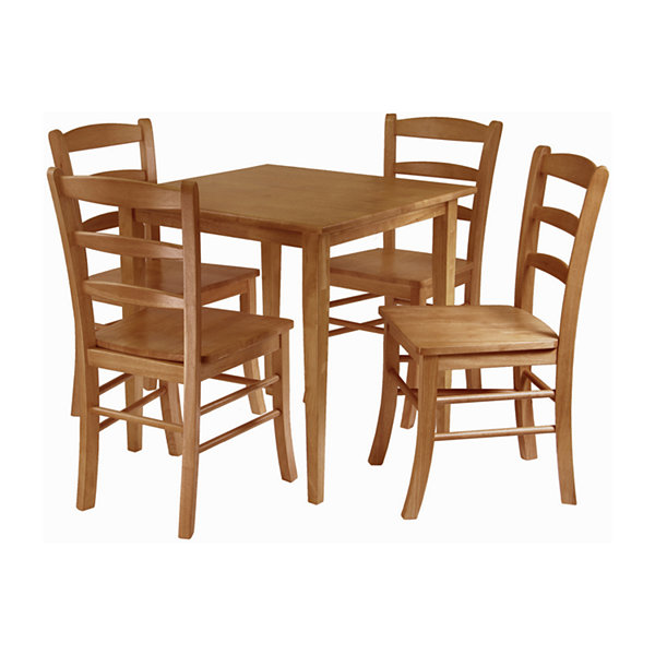 Winsome Groveland 5 Pc Dining Table With 4 Chairs