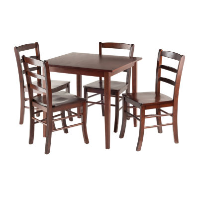 Winsome Groveland 5pc Square Dining Table with 4 chairs