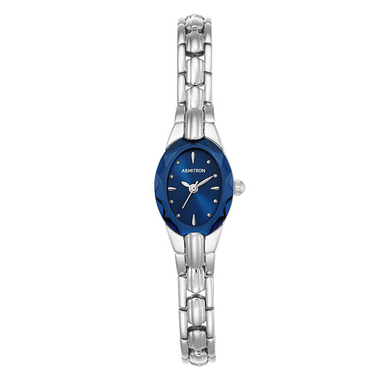 Armitron Armitron Womens Silver Tone Bracelet Watch-75/3313blsv