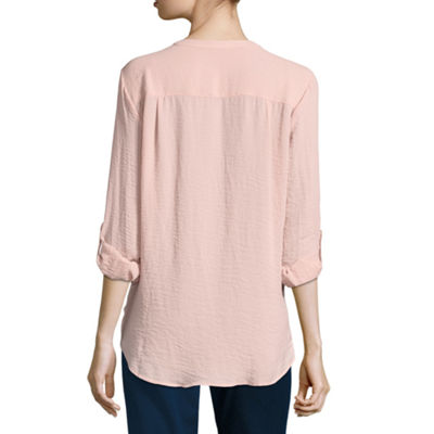 A.N.A 3/4 Sleeve Tunic Top - Tall