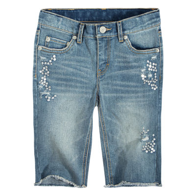 Levi's Denim Bermuda Shorts - Big Kid Girls