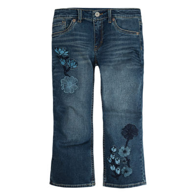 Levi's Crop Girlfriend Bootcut -Big Kid Girls