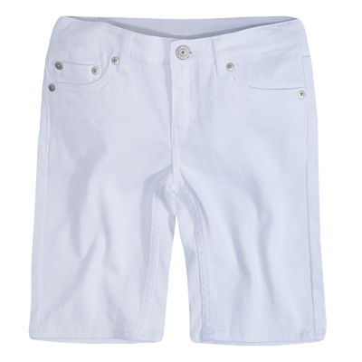 Levi's Seaside Denim Bermuda Shorts - Big Kid Girls