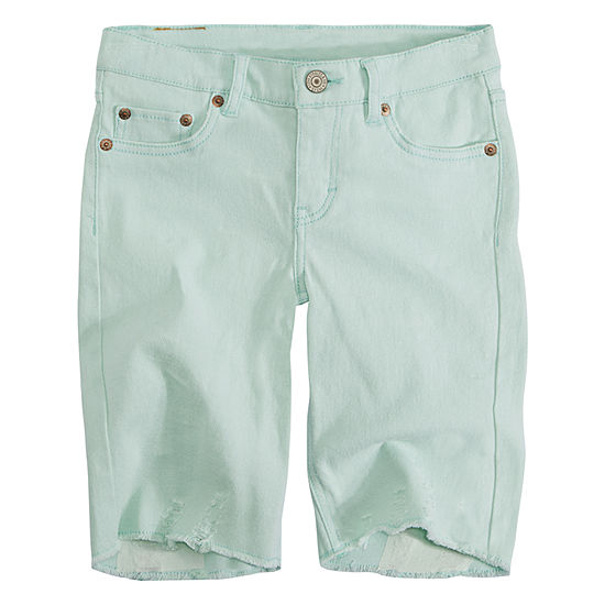 Levi'sSeaside Bermuda Shorts - Big Kid Girls Plus