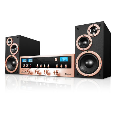 Classic CD Stereo System with Bluetooth