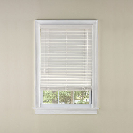 Levolor Visions 2 Custom Faux Wood Blinds Jcpenney
