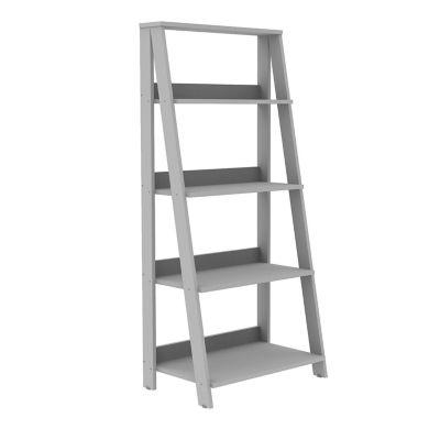 "55"" Wood Ladder 4-Shelf Bookshelf"