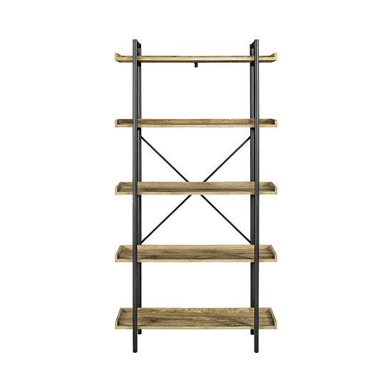 "68"" Urban Pipe 5-Shelf Bookshelf"