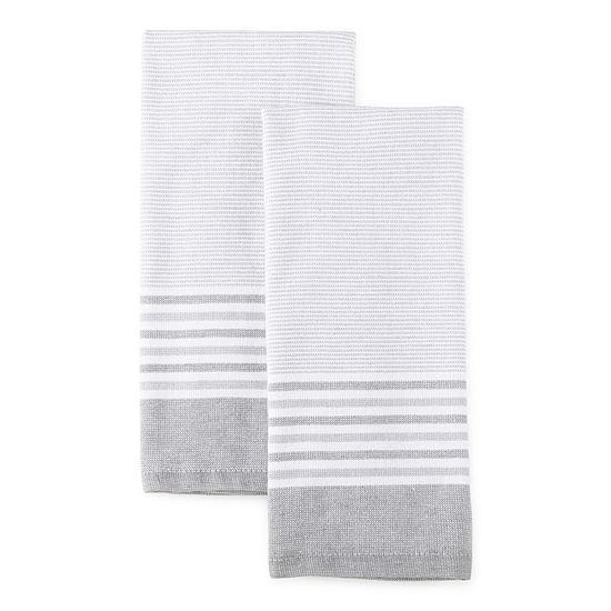 Haru Stripe Dual Purpose 2-pc Kitchen Towel