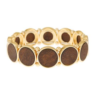 Worthington Wood Stretch Bracelet