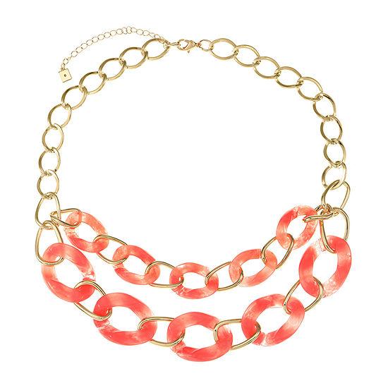 Worthington 20 Inch Curb Statement Necklace