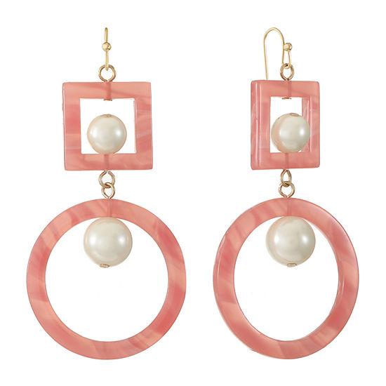 Worthington Simulated Pearl Drop Earrings