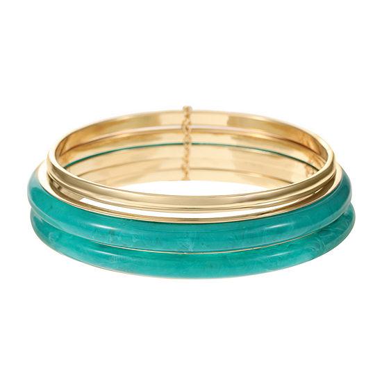 Worthington Gold Tone Bangle Bracelet