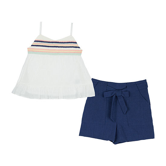 by&by Big Girls 2-pc. Short Set
