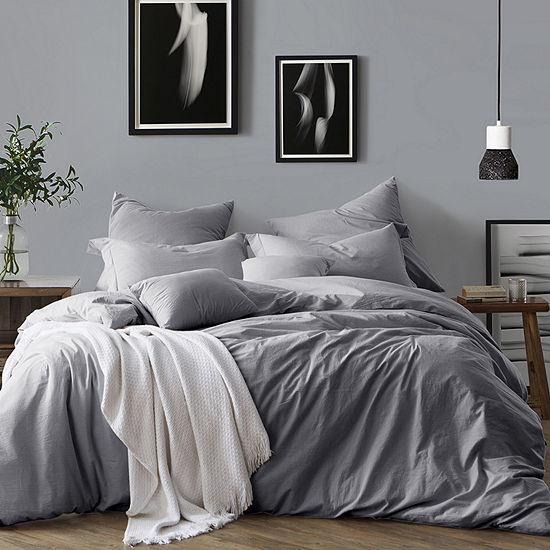 Swift Home Chambray Cotton Duvet Cover Set