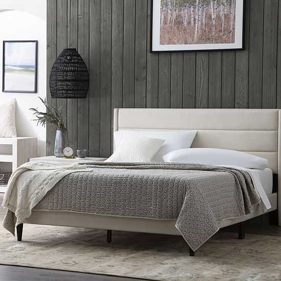 The Dream Collection by Lucid® Upholstered Bed