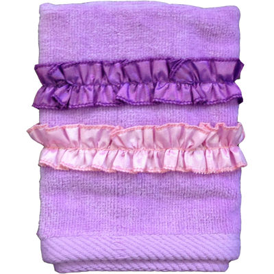 Ruffle Power Washcloth