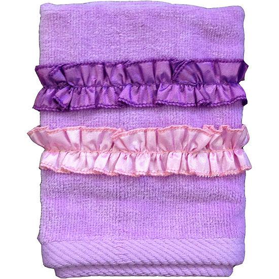 Ruffle Power Washcloth