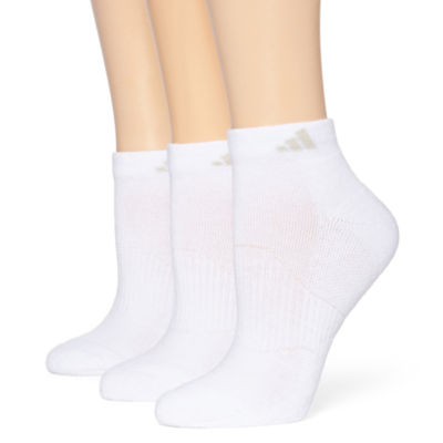 adidas® 3-pk. Cushion Low-Cut Socks