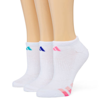 adidas® 3-pk. Cushion No-Show Socks