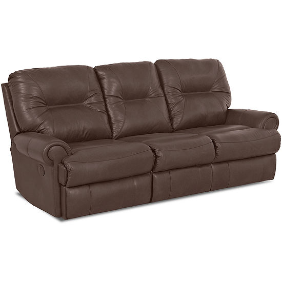 Brinkley Faux-Leather Reclining Motion Sofa