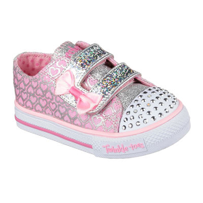 Skechers® Shuffles Girls Glitter Pop Sneakers - Toddler