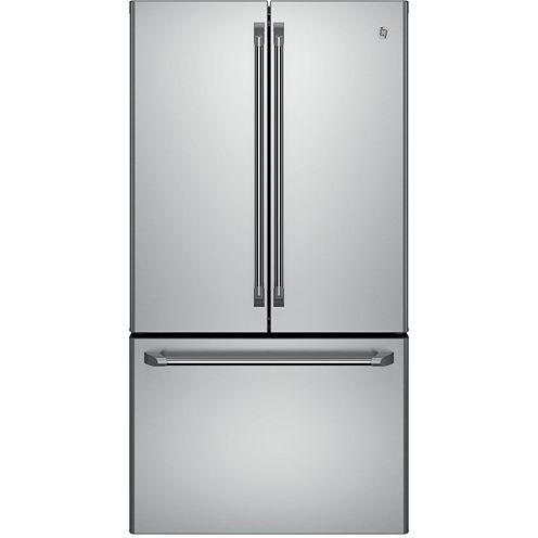 GE Cafe ENERGY STAR® 23.1 Cu. Ft. French Door Refrigerator Counter Depth