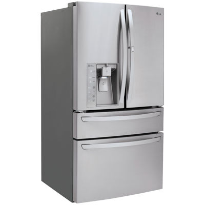 LG ENERGY STAR® 29.7 cu. ft. Super Capacity 4-Door French Door Refrigerator with Door-in-Door® Design and CustomChill™ Drawer