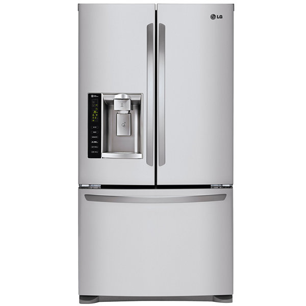 Bon Ultra Large Capacity 3 Door French Door Refrigerator With