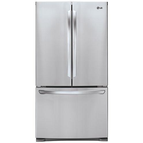 LG ENERGY STAR® 27.9 cu. ft. Ultra Large Capacity 3-Door French Door Refrigerator