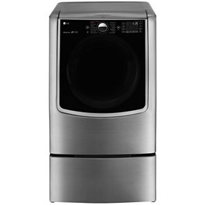 LG ENERGY STAR® 9.0 cu. ft. Ultra Large High-Efficiency Gas SteamDryer™ with SteamSanitary™ TurboSteam™