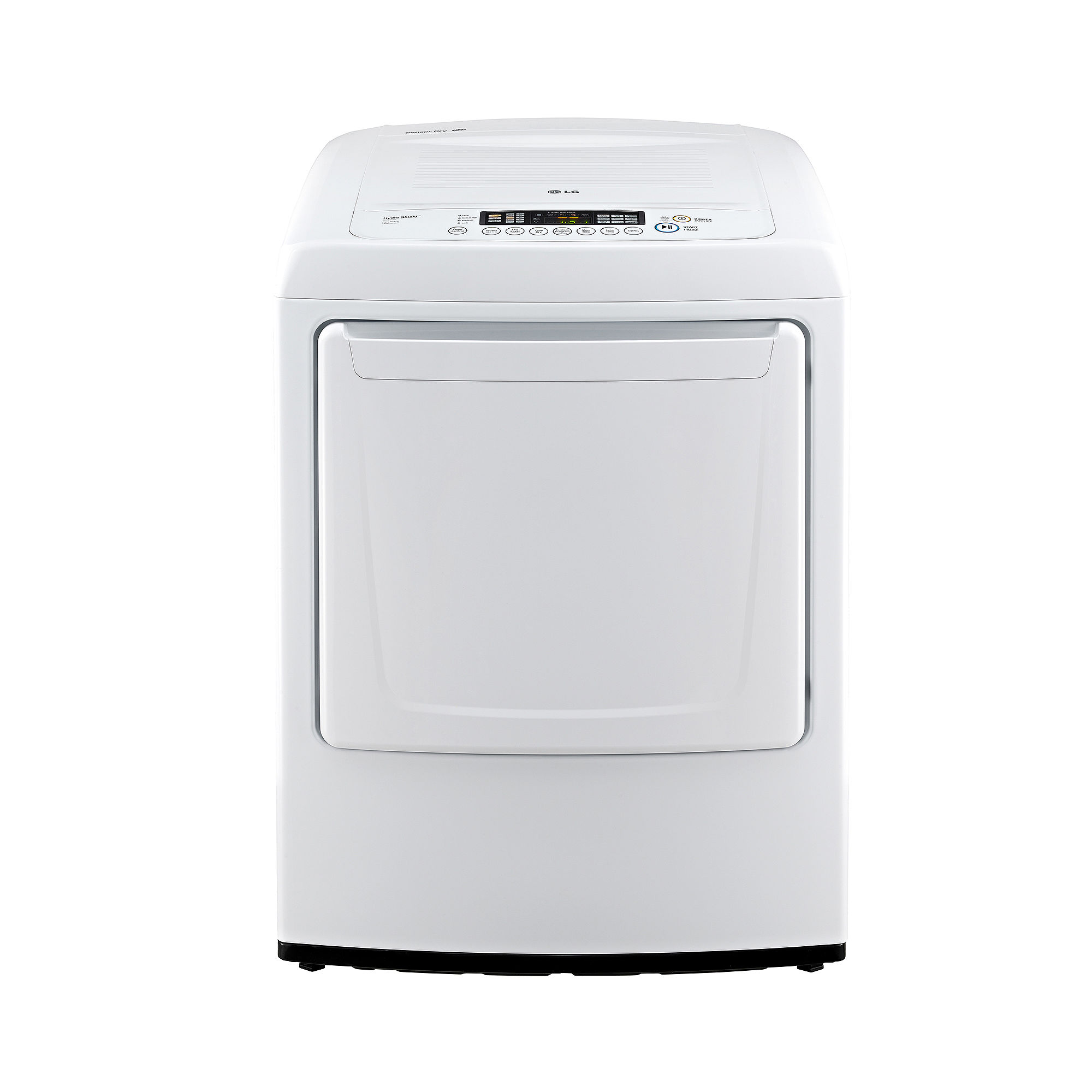 LG 7.3 cu. ft. Ultra-Large Capacity High-Efficiency Electric Dryer with Front Control Design - DLE1001W