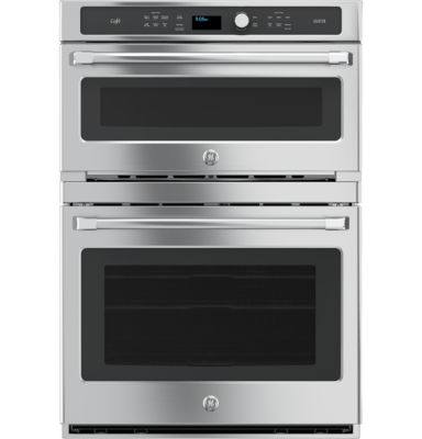 "GE Cafe™ Series 30"" Combination Double Wall Oven with Convection and Advantium® Technology"