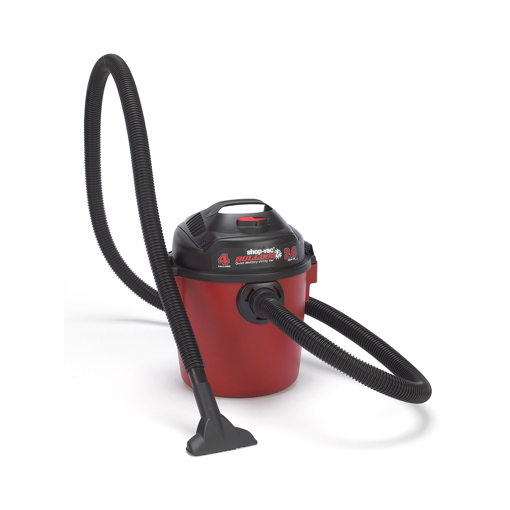 Shop-Vac BULLDOG 4-Gallon Portable Wet/Dry Vacuum Cleaner