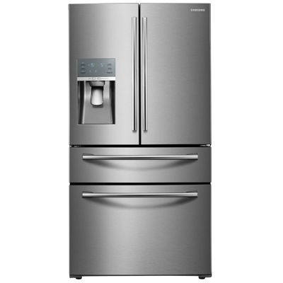 refrigerator black. 4-door french door refrigerator with black