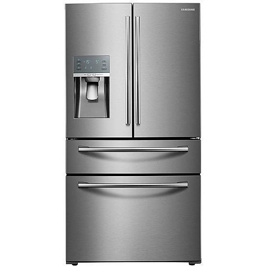 Samsung Energy Star 28 Cu Ft 4 Door French Door Refrigerator With