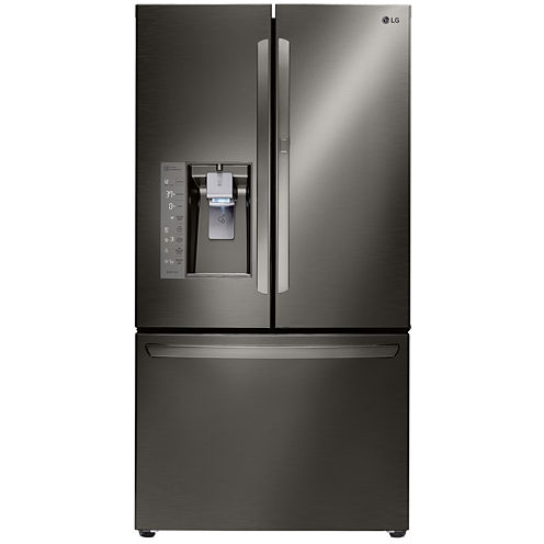 LG ENERGY STAR® 29.6 cu. ft. Super Capacity 3-Door French Door Refrigerator with Door-in-Door Design