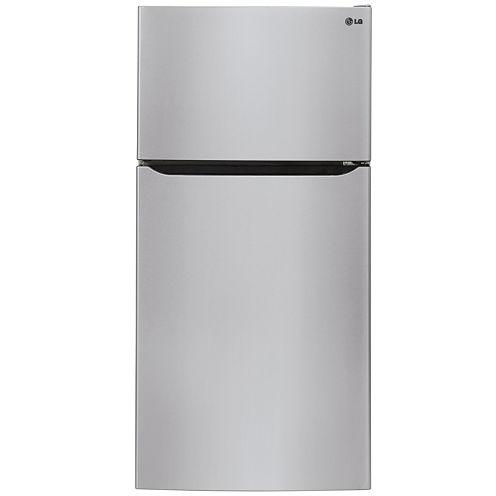 "LG ENERGY STAR® 23.8 cu. ft. 33"" Wide Top-Mount Refrigerator"
