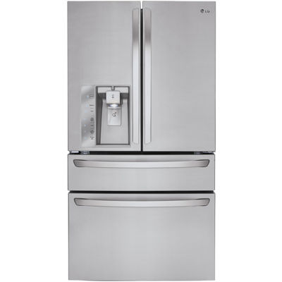 LG ENERGY STAR® 29.9 cu. ft. Super Capacity 4-Door French Door Refrigerator with CustomChill® Drawer