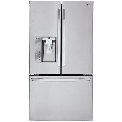 LG ENERGY STAR® 29.8 cu. ft. Super Capacity 3-Door French Door Refrigerator
