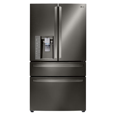LG ENERGY STAR® 22.7cu. ft. Large Capacity 4-Door French Door Refrigerator With CustomChill™ Drawer Counter Depth
