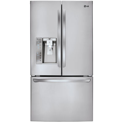 LG ENERGY STAR® 28.7 cu. ft. Ultra Capacity 3-Door French Door Refrigerator with Dual Ice Makers