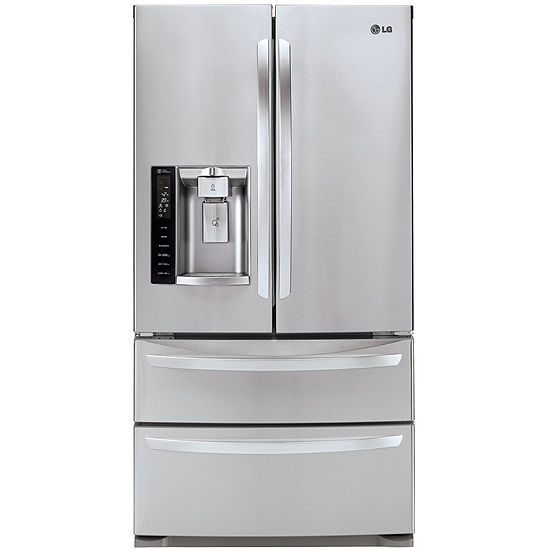 Lg Lmxs27626s Energy Star 267 Cu Ft Ultra Capacity 4 Door French