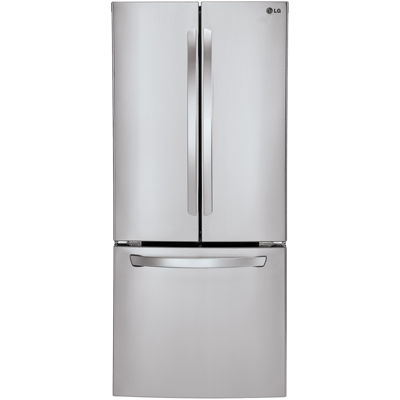 "LG ENERGY STAR® 21.8 cu. ft. 30"" Wide French Door Refrigerator with Multi-Air Flow Cooling"
