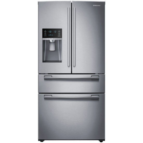 "Samsung 25 cu. ft. 33"" Wide 4-Door Refrigerator with FlexZone™ Drawer"